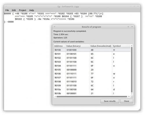 Qg 0.1 для Linux